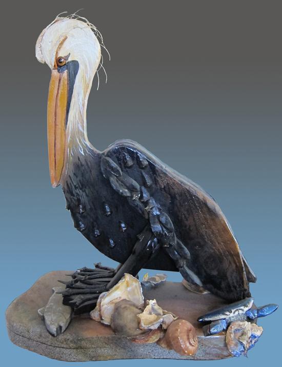 Pelican Ives Wall Decor